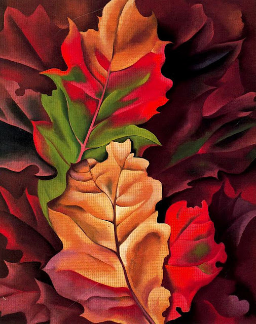 Autumn Leaves Painting by Georgia O'Keeffe