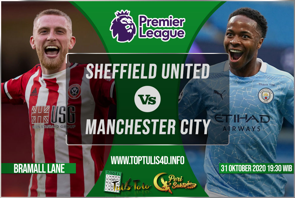 Prediksi Sheffield United vs Manchester City 31 Oktober 2020