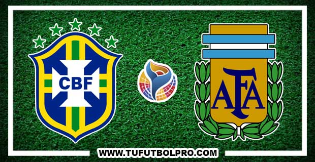 Ver Brasil vs Argentina EN VIVO Por Internet Hoy 8 de Febrero 2017