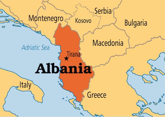 Arnavutluk nerede ve neresi