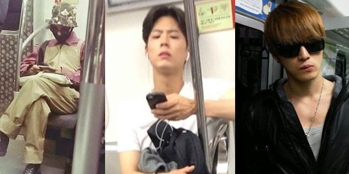 Phim Khi sao Hàn hóa thường dân xuất hiện trên tàu điện ngầm-2016