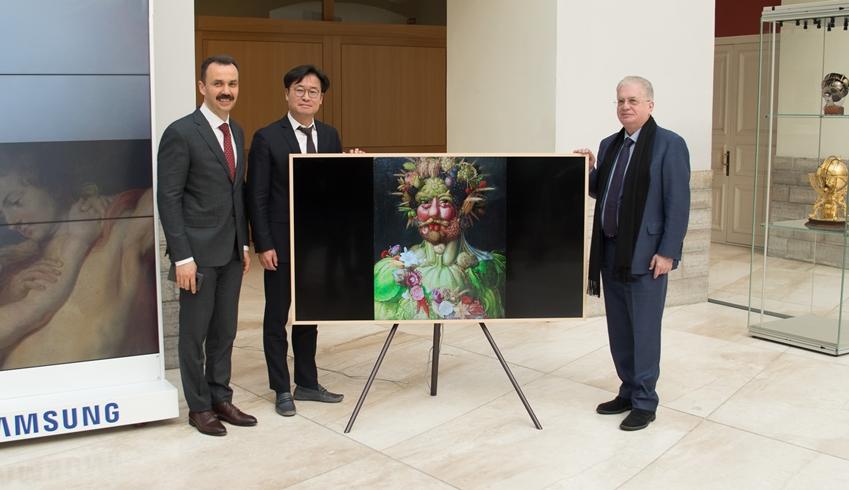 러시아 '에르미타주' 미술관 작품을 '더 프레임'으로 선보인다