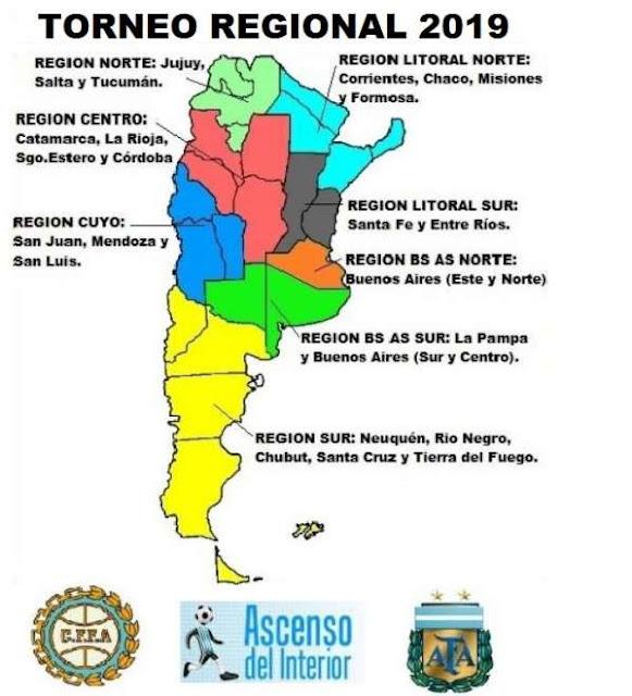 SE VIENE EL TORNEO REGIONAL FEDERAL AMATEUR  2019