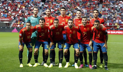Spain XI vs Faroe Islands