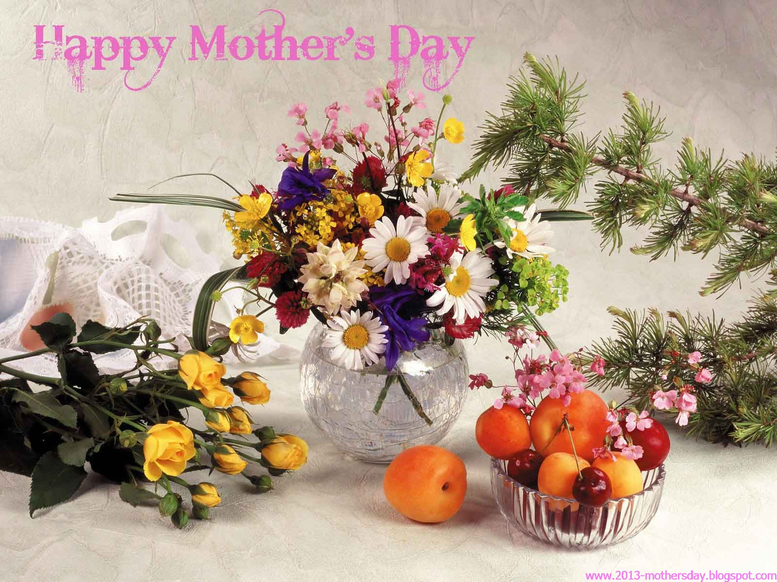 Wallpaper Of Happy Mothers Day: Wallpaper Free Download: Mothers Day 2013 Desktop