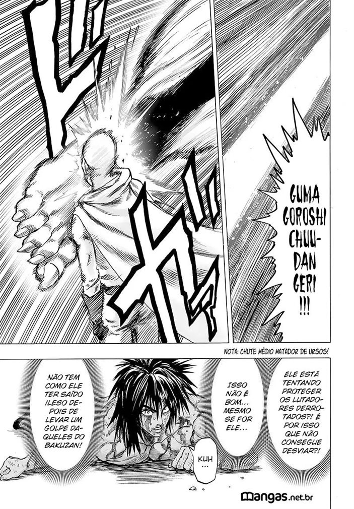One Punch Man Mangá 116
