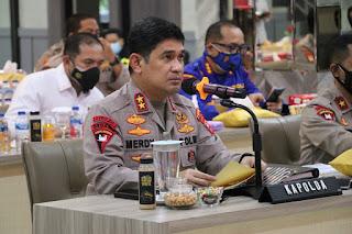 Pimpin Gelar Opsnal Triwulan II 2021, Kapolda Sulsel Perintahkan Jajarannya Fokus Penanganan Covid 19