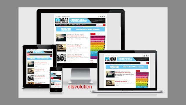 Download Template Evo Magz Murah Meriah 100% Responsive