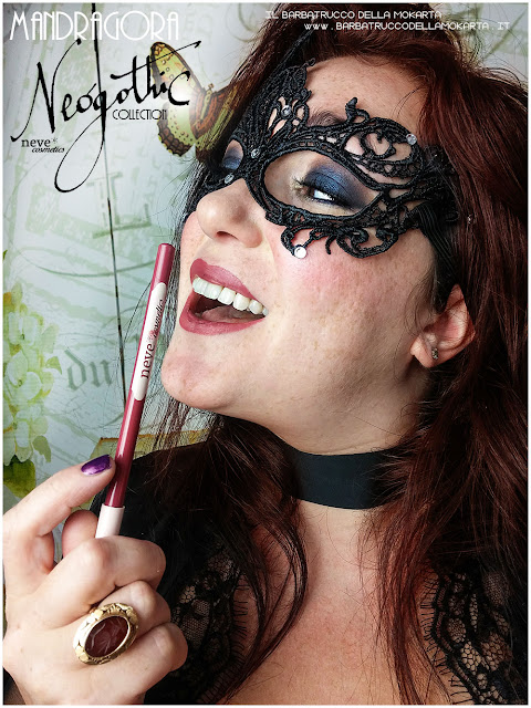 makeup mandragora biopastello labbra comparazioni neogothic collection neve cosmetics makeup