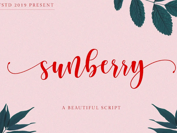 Sunberry Beautiful Script Free Download