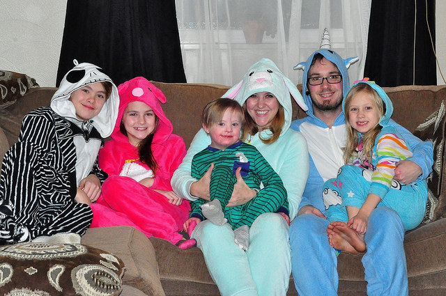 Holiday Pajamas Family Tradition