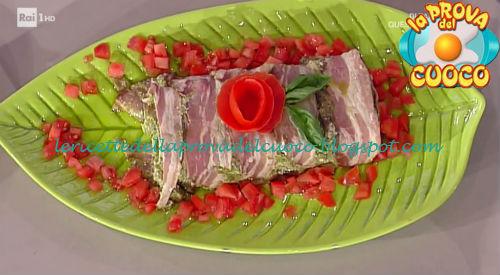 Terrina di pollo del tigullio ricetta Persegani da Prova del Cuoco