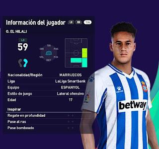 PES 2021 Faces Omar El Hilali by Francisco1507