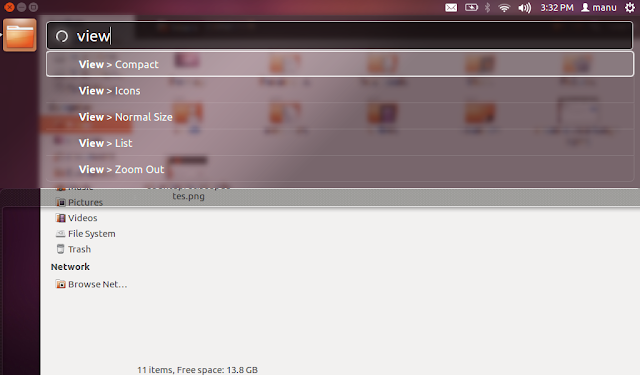 HUD is Default in Ubuntu 12.04