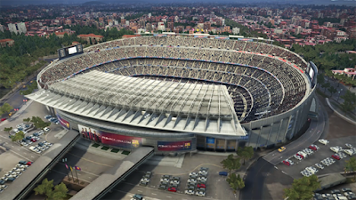 Legendary Barcelona Stadium, PES 2016