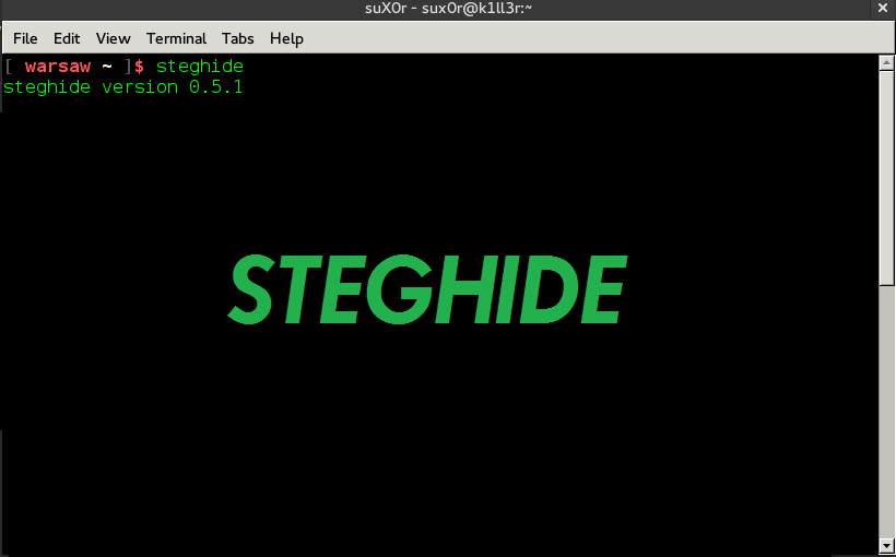 Steghide - A Beginners Tutorial
