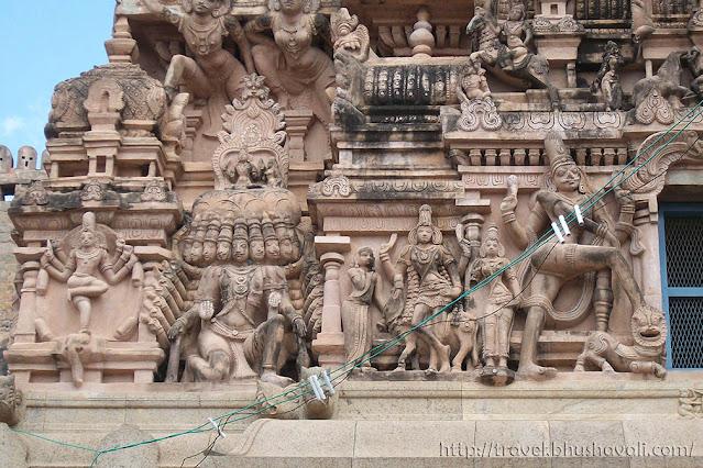 Sathyagiriswarar Sivan Koil Pudukottai Temples