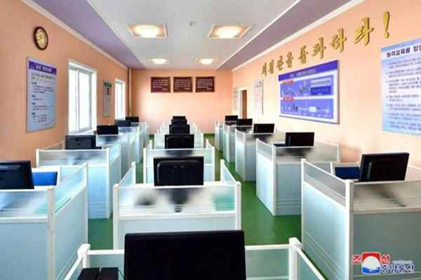 Study room in the Haeju Taegyong Processing Statio