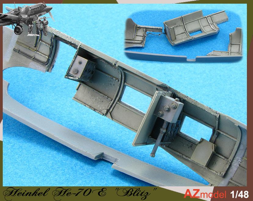 He-70 Azmodel 1/48