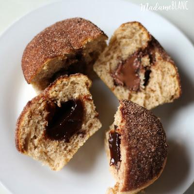 Muffins Nutella Zwetschgenmus