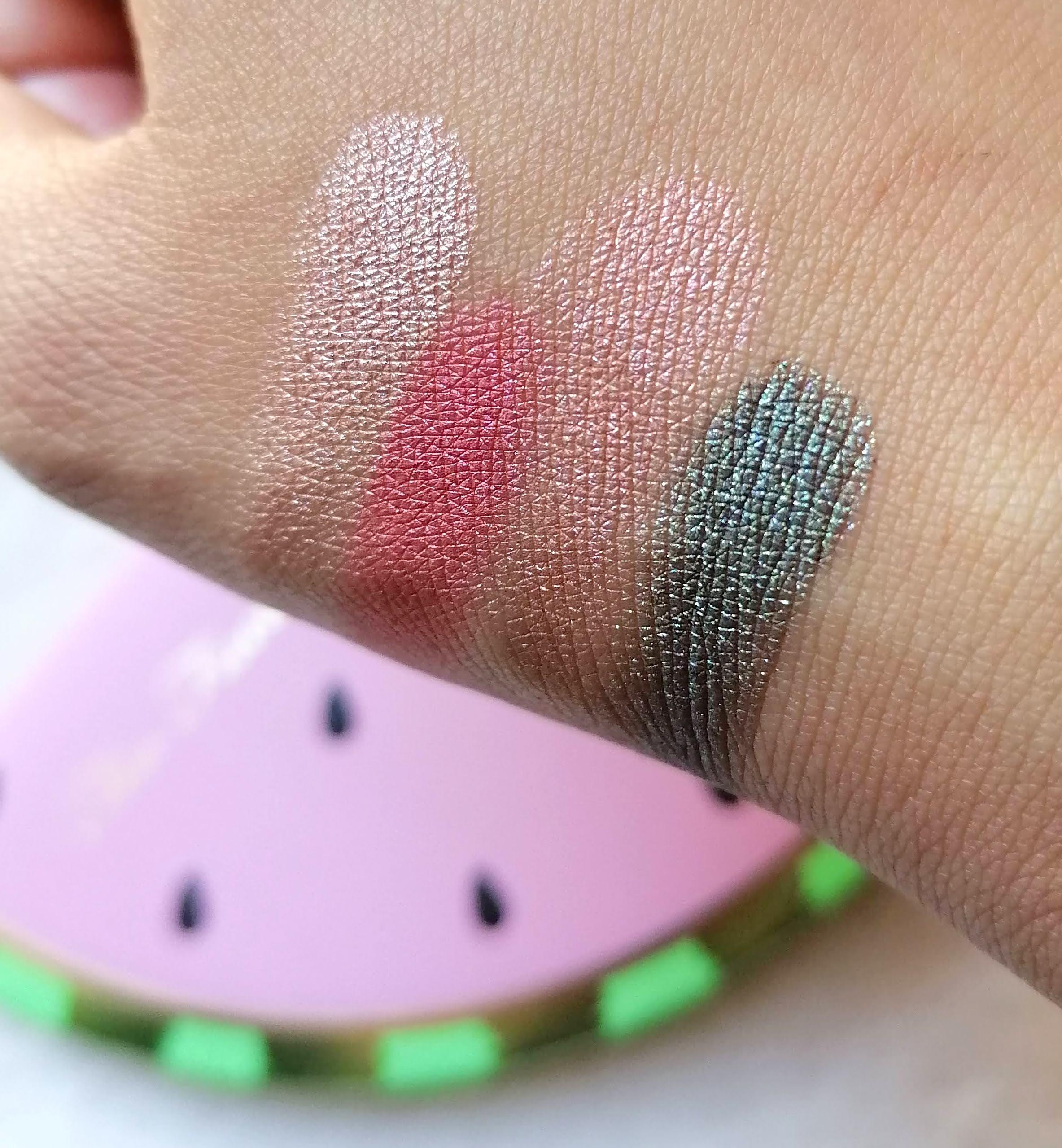 Watermelon Slice de TOO FACED - revue, swatch et make up 🍉