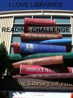 I Love Libraries Reading Challenge, library, books, Bea's Book Nook
