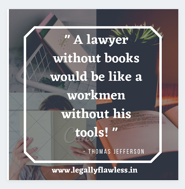 5 books every lawyer/ law student must read!