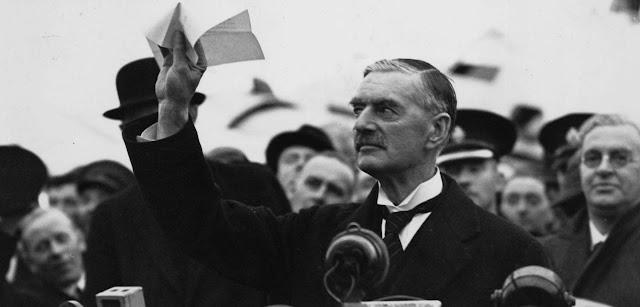 Ο Τσάμπερλεϊν και η «Πολιτική του Κατευνασμού»