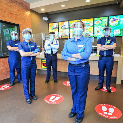 Strict safety measures welcome Mang Inasal diners