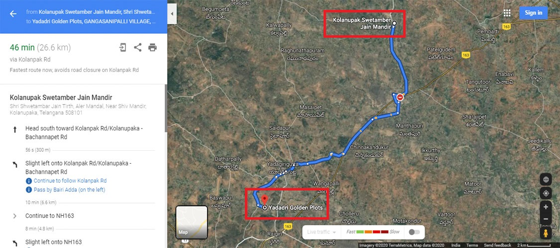 Kolanupak Swetamber Jain Mandir-2