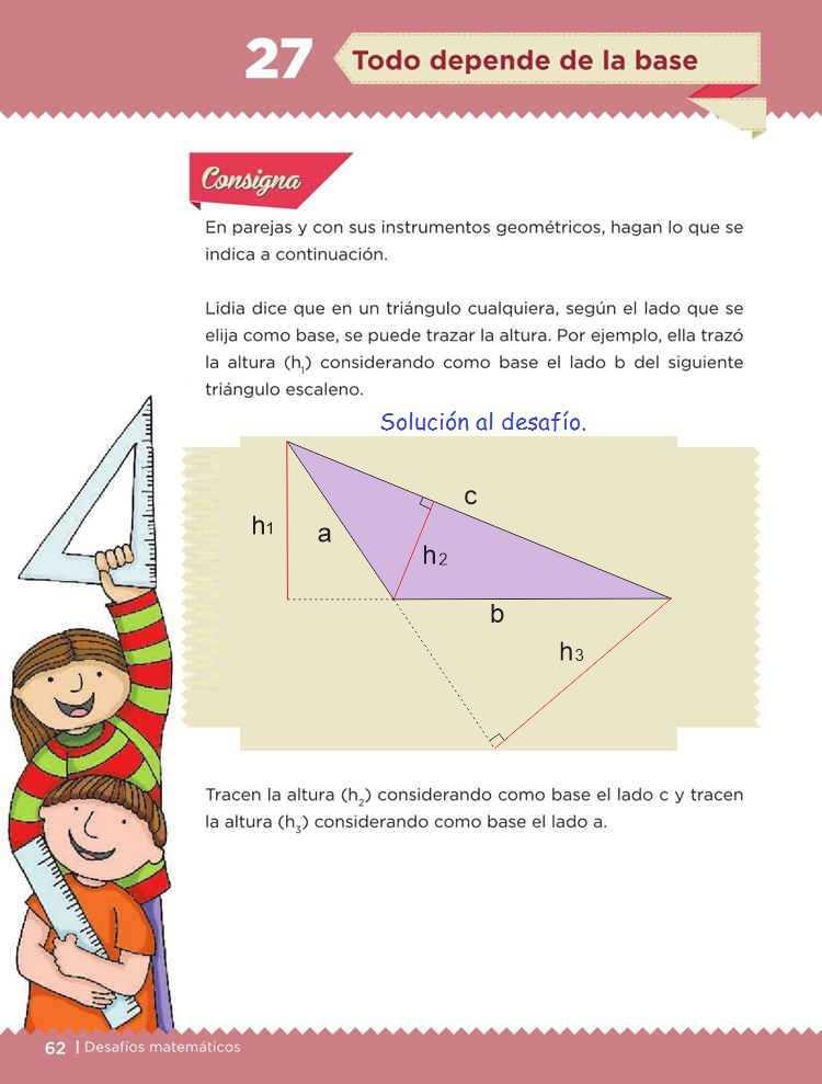 Todo depende de la base - Desafío 27- Desafíos Matemáticos Quinto grado Contestado