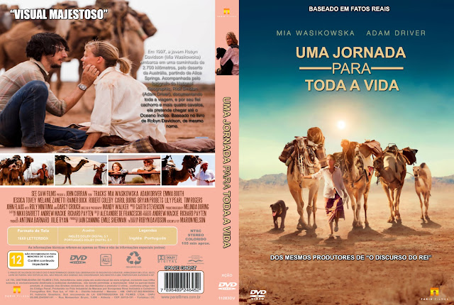 Capa DVD Uma Jornada Para Toda A Vida