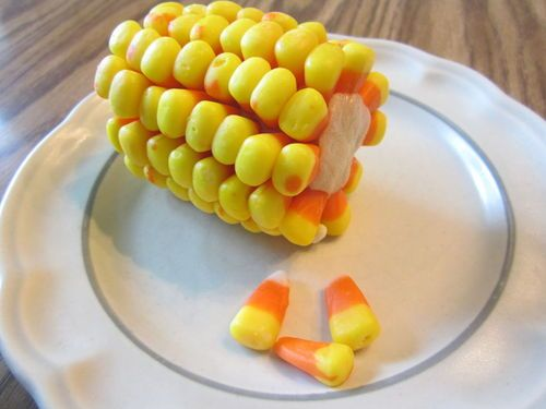 Fern Smith's Classroom Ideas: Tuesday Teacher Tips: Halloween Fun At School with Bat Cupcake Directions and a Candy Corn on the Cob Project Too!