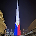 WATCH: Burj Khalifa lit up with the colors of the Philippine flag