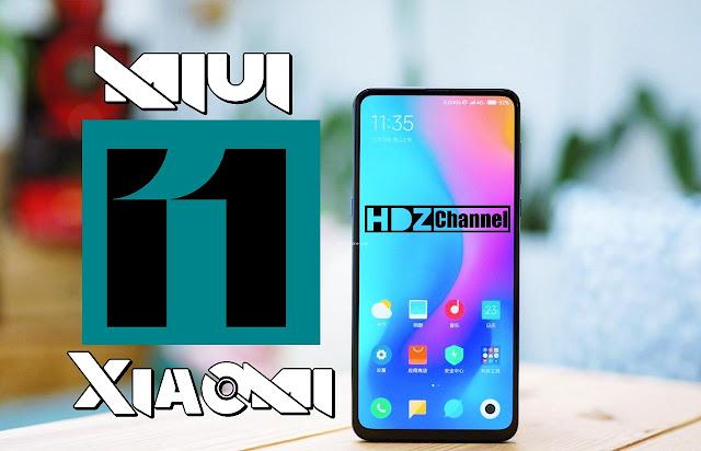 xiaomi Release new miui 11 Update 2019