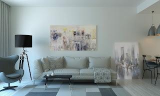 إضافة براويز لوحات على الحائط