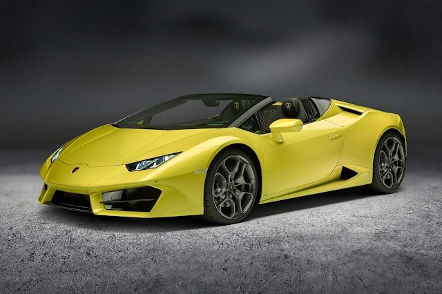 Lamborghini Huracán Spyder LP 580-2, para hombres de verdad