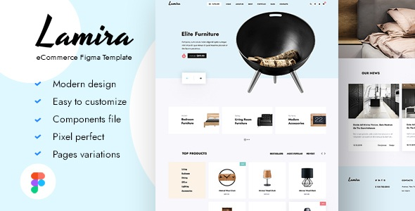 Best eCommerce Figma Template