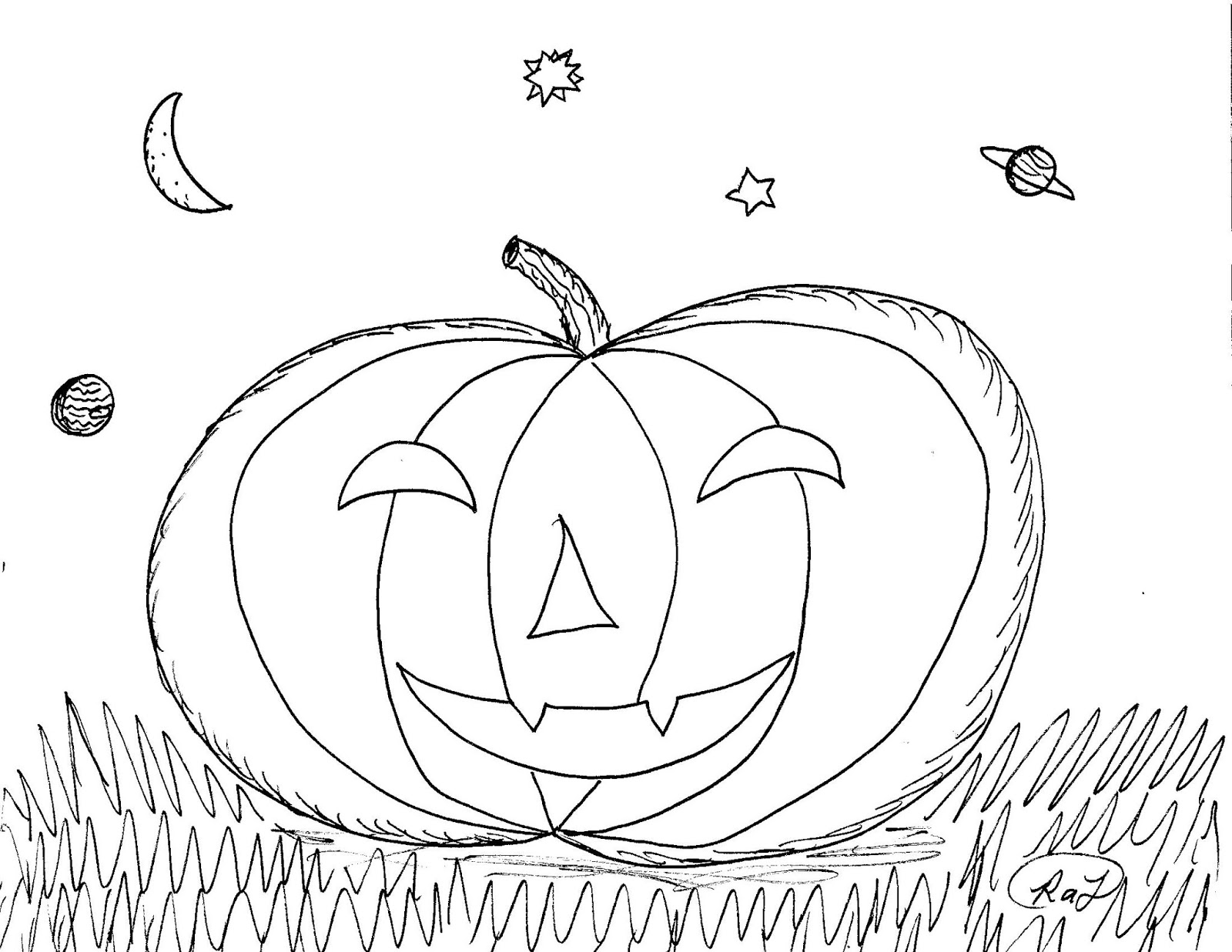 Robin's Great Coloring Pages: October 2019