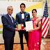 सुल्तानपुर निवासी इंजीनियर का यूएसए में सामाजिक सौहार्द के लिए सम्मान Sultanpur resident engineer honored for social harmony in USA