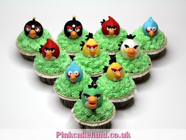 Angry Birds Cupcakes in London