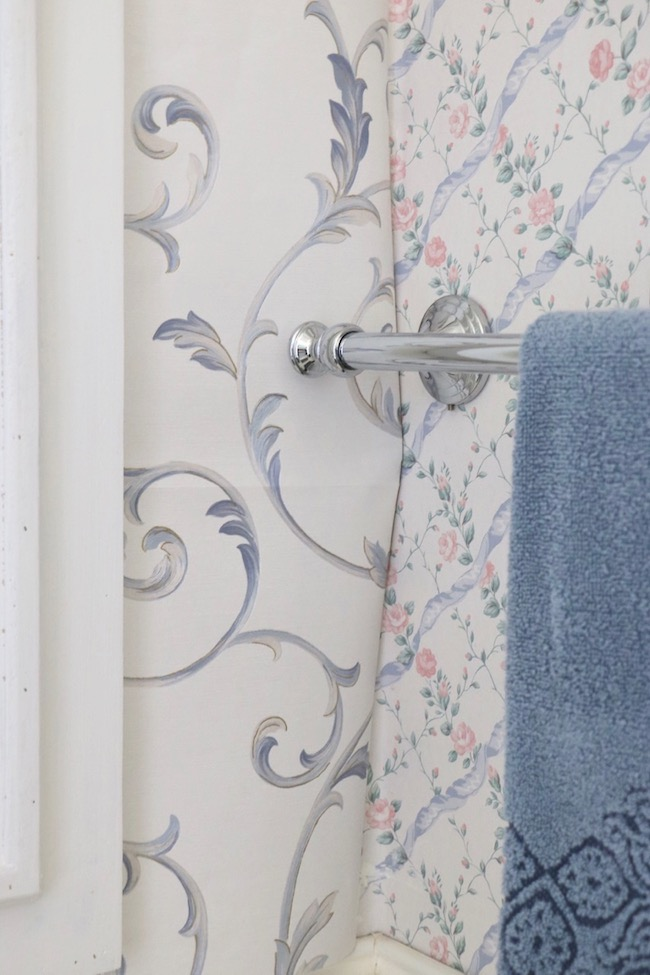 French Country Powder Room