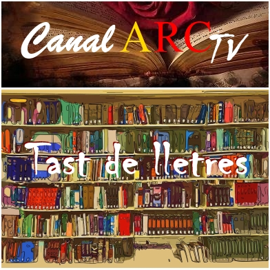 Logo Canal ARC TV - Tast de lletres