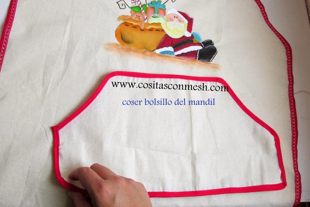 delantal-navideño-manualidades