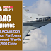 DAC approves capital acquisition of various platforms & equipment worth Rs 38,900 crore