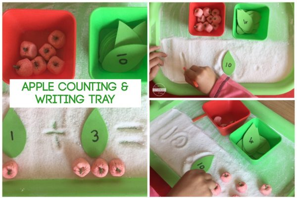 apple counting and salt writing