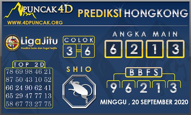 PREDIKSI TOGEL HONGKONG PUNCAK4D 20 SEPTEMBER 2020