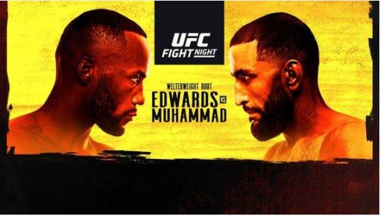 Watch UFC Fight Night Vegas 21: Edwards vs. Muhammad 3/13/21 Live Online