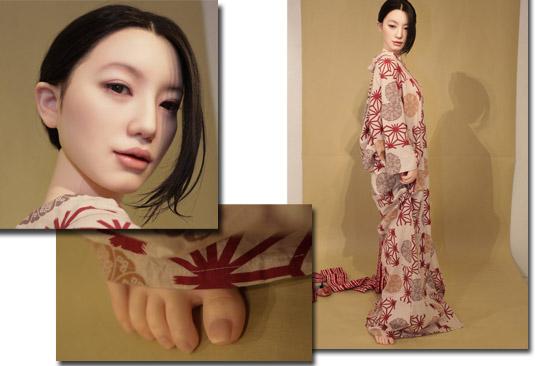 Bonecas sexuais em exposição de arte no japão