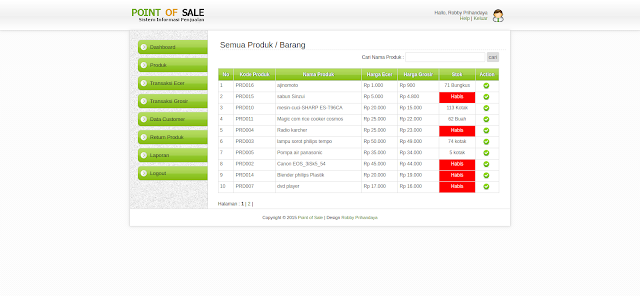 Aplikasi Penjualan Minimarket V.3.2 support PHP 7 (Grosir + Eceran)
